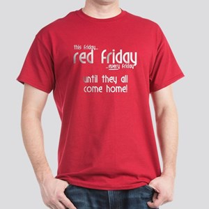 Red Friday [Rounded] Dark T-Shirt